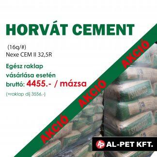 Raklapos horvát cement AKCIÓ